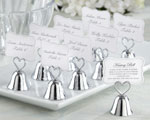 """Kissing Bell"" Place Card/Photo Holder (Set of 24)"